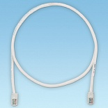 PANDUIT UTPCH20MY Патч-корд TX5e UTP, Cat.5e, с модульными разъёмами PAN-PLUG™ на обоих концах, 20 м, белый